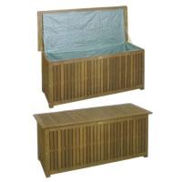 Auflagenbox aus tropischem Hartholz